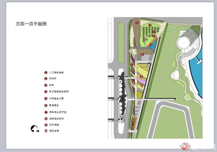 某現代風格中心廣場景觀規劃設計ppt方案[原創]