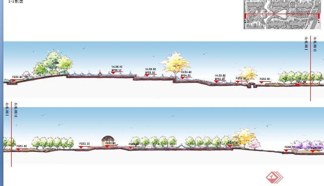 某居住小区景观设计汇报ppt文本(4)图片