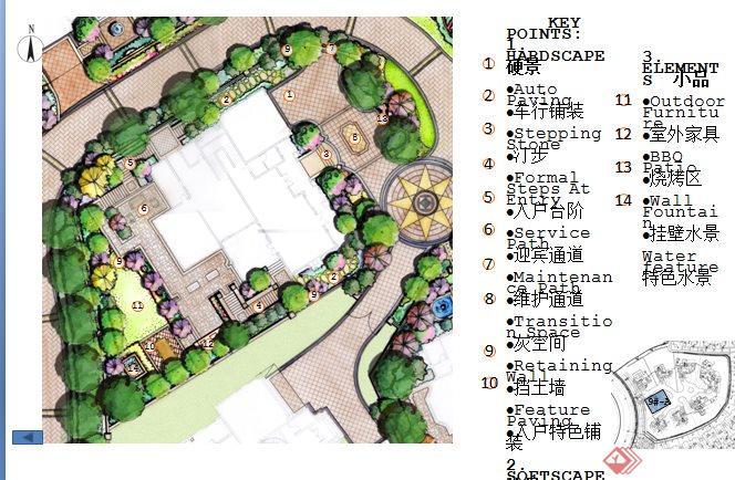 重庆某别墅区景观设计价格ppt别墅[原创]继承者文本方案们图片