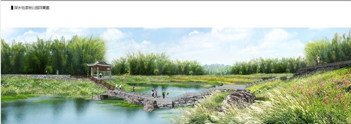 柳州莲花山风景区环江滨水大道b段景观绿化工程方案设计.(3)