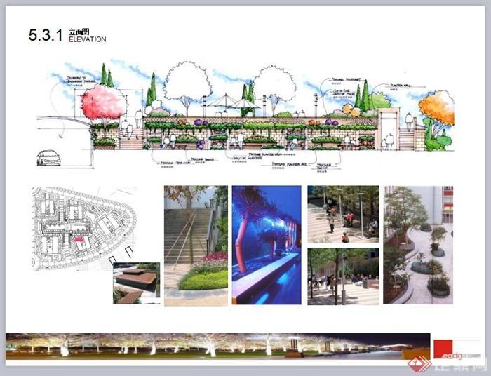 现代风格商业街景观规划设计PPT方案