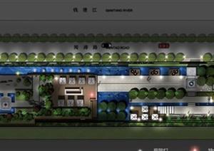 样板房住宅景观设计方案文本