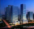 商业办公综合建筑,商业办公大楼,商业办公综合楼