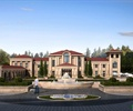 会所,会馆,售楼处,景观水池,喷泉水池