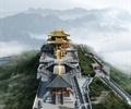 寺庙,庙宇,文化建筑,旅游建筑