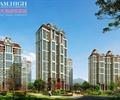 高层住宅,住宅楼,住宅建筑,小区绿化