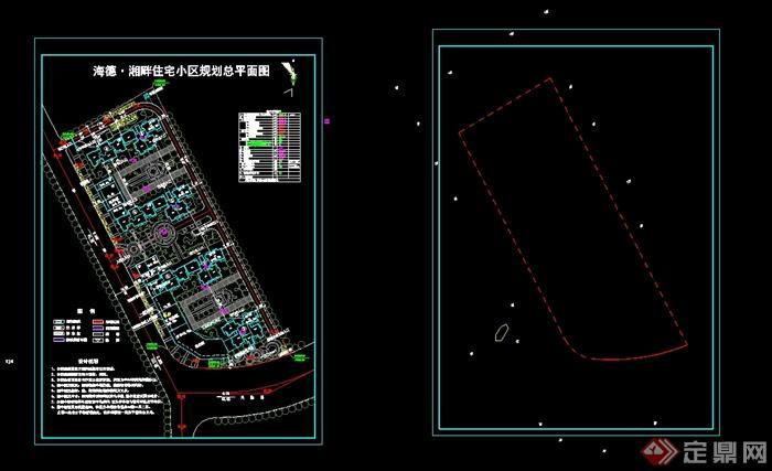 欧式住宅小区居住建筑详细设计3d模型含cad方案[原创]