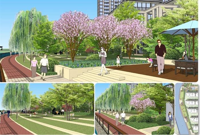 某住宅社区项目洋泾住宅景观设计方案高清文本