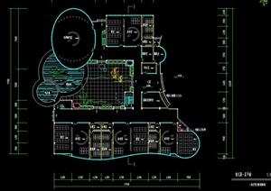 某现代风格幼儿园规划设计CAD方案