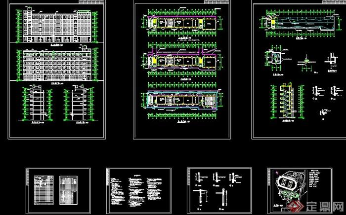 小学教学建筑设计施工图