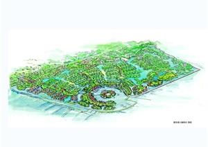 某欧式风格详细城市综合建筑设计jpg效果图