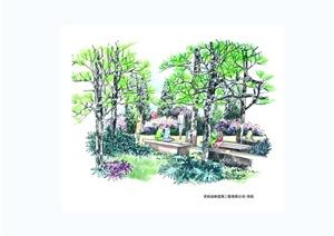 某公园景观手绘jpg方案