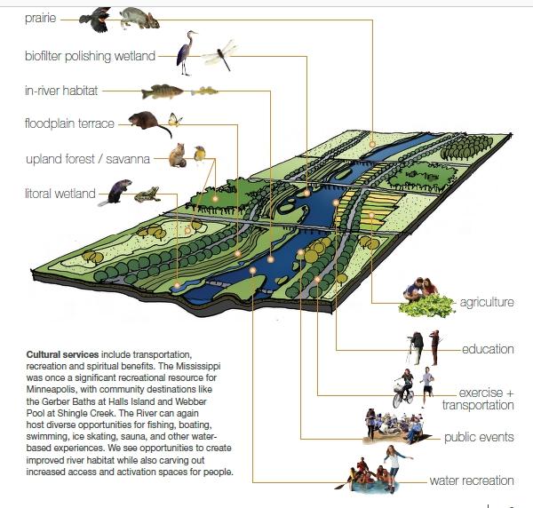 现代风格河道带状公园规划设计方案文本[原创]