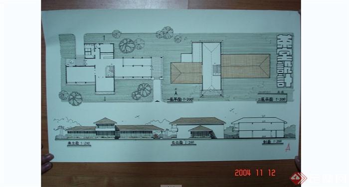 建筑快题设计手绘方案效果图JPG图片(3)