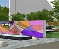 美术馆绿地景观设计