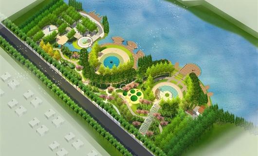 江西九江滨河绿地主题公园景观设计