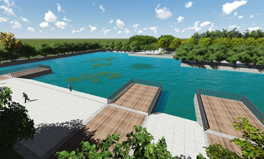 安阳工学院校园绿地景观设计