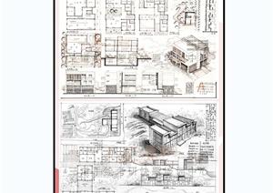 234张建筑学生快题设计jpg图片