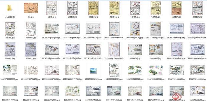 234张建筑学生快题设计jpg图片(7)