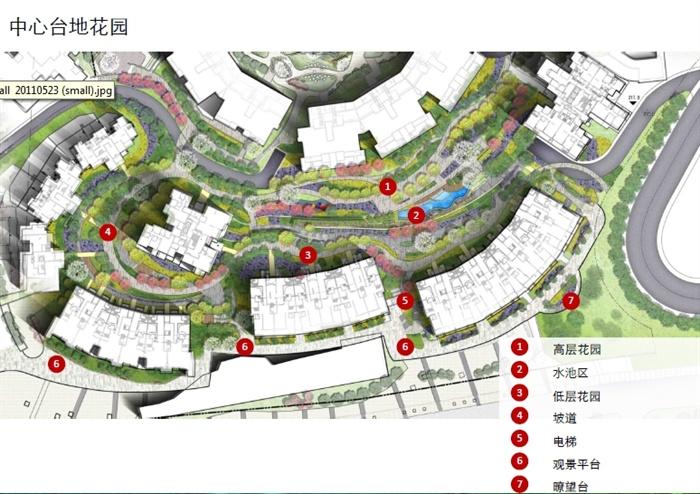 某现代风格详细住宅小区景观设计方案高清pdf文本[原创]