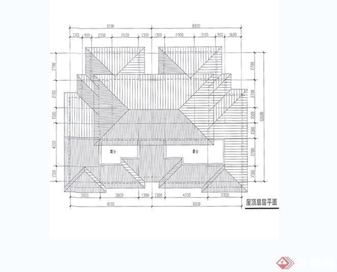 欧式风格别墅建筑设计jpg方案[原创]