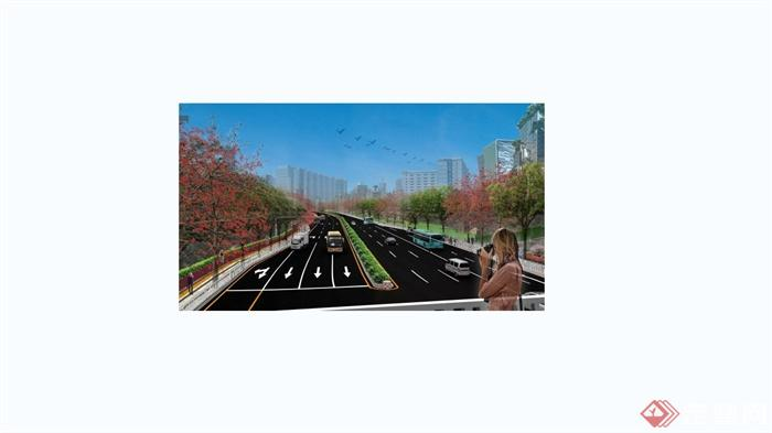 深圳大和路龙华段沿线景观规划设计pdf方案含jpg图片
