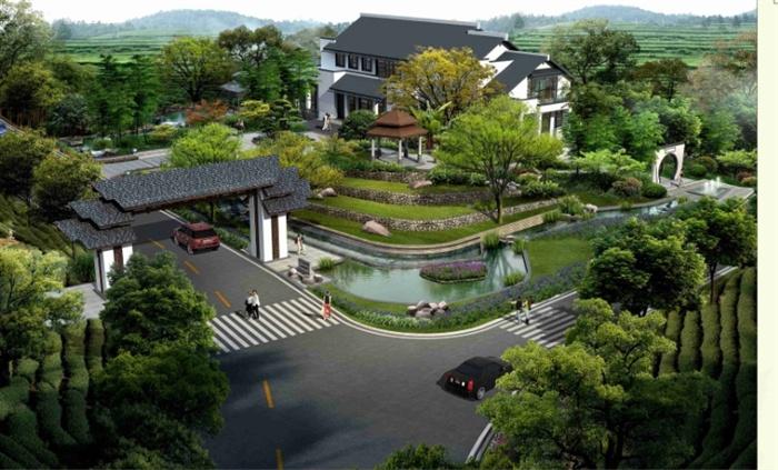 杭州徐杭小古城村景观设计方案高清pdf文本[原创]