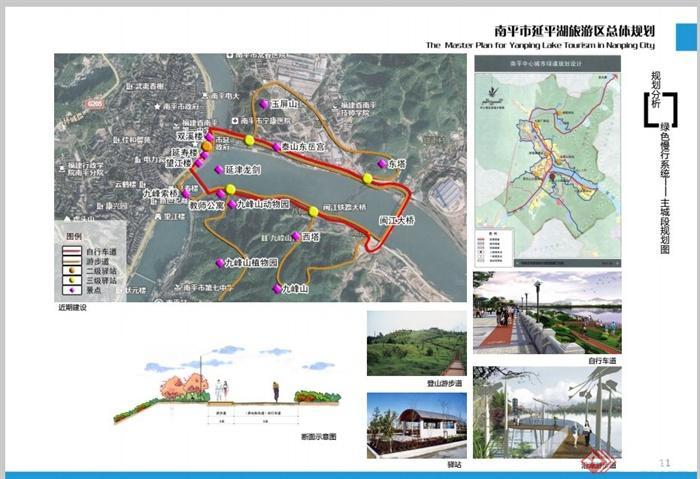 南平市延平湖旅游区景观规划设计pdf方案[原创]