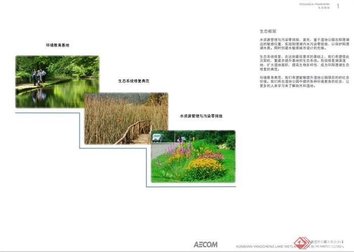 昆山阳澄湖湿地公园景观规划设计PDF方案(5)