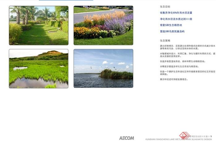 昆山阳澄湖湿地公园景观规划设计PDF方案(6)