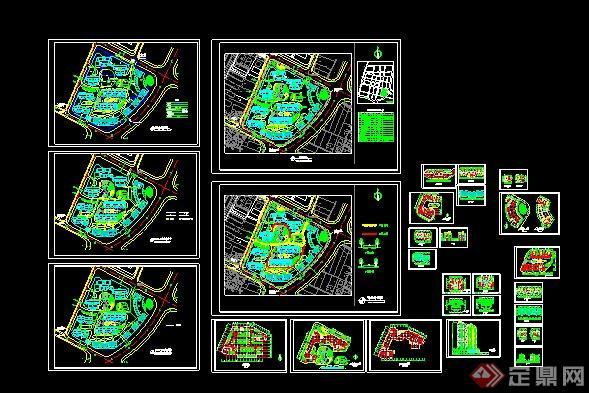 现代中式商住小区建筑方案及效果图[原创]图片