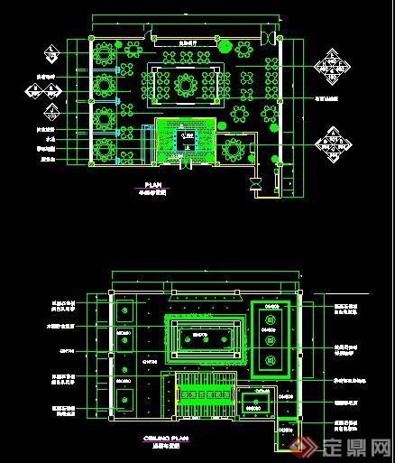 多套商业餐厅室内设计方案[原创]