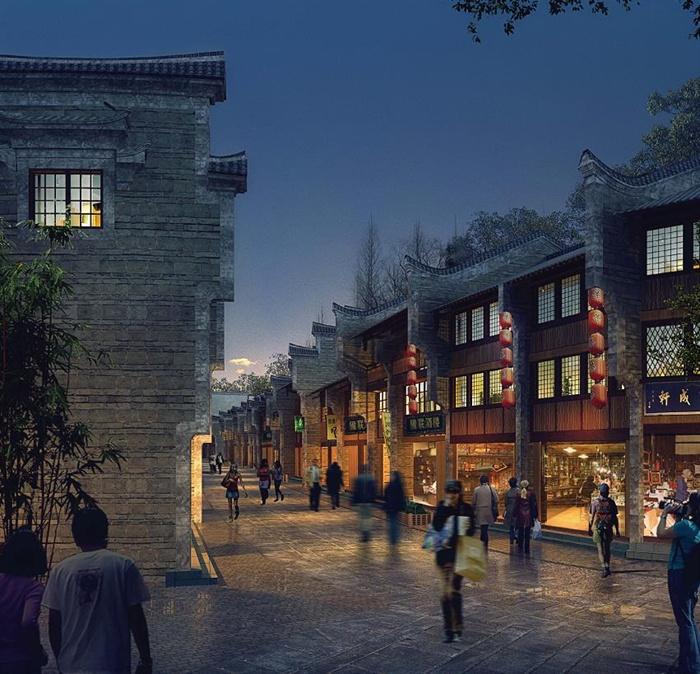 新化县梅山古镇老街历史建筑修缮建筑设计pdf方案