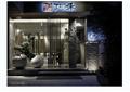 现代风格日本料理店详细设计cad施工图及实景图