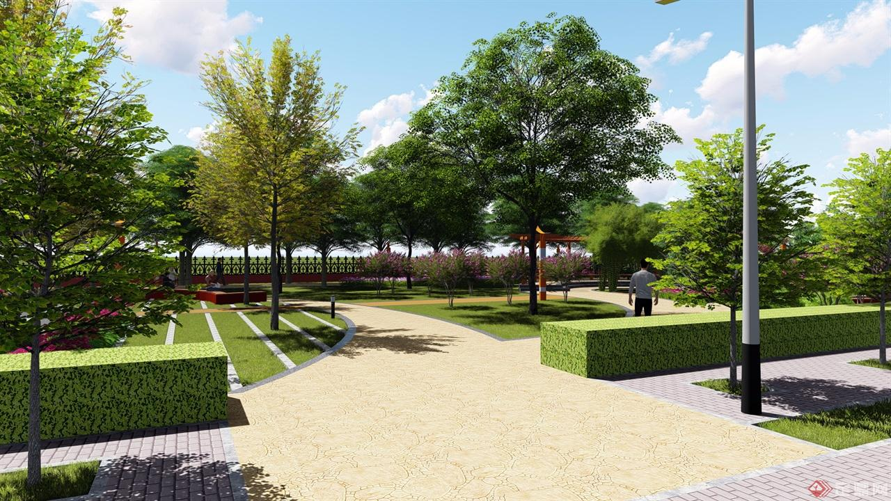校园景观-利拓风景园林设计工作室