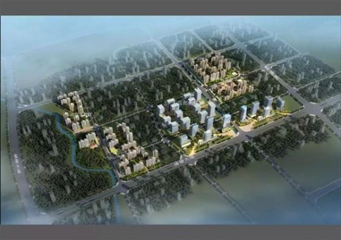 福建某医疗产业园总部办公及住宅片区规划