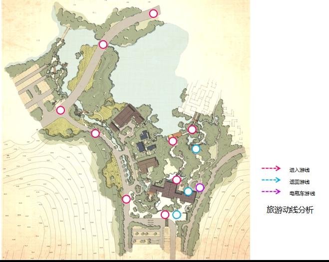 耿湾文本口区入方案旅游景观概念设计高清溪谷ppt禅心三维设计v文本说明图片