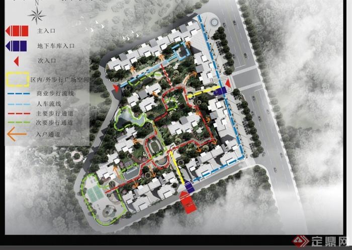 某现代风格高档小区景观设计方案最终pdf文本(6)