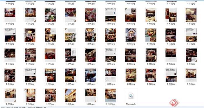 多种不同单独详细情调餐厅jpg图片(8)