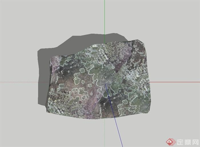179个园林景观石头假山景观石置石单体模型(4)