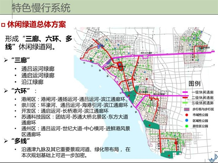 南通市慢行交通系统规划设计方案pdf文本[原创]