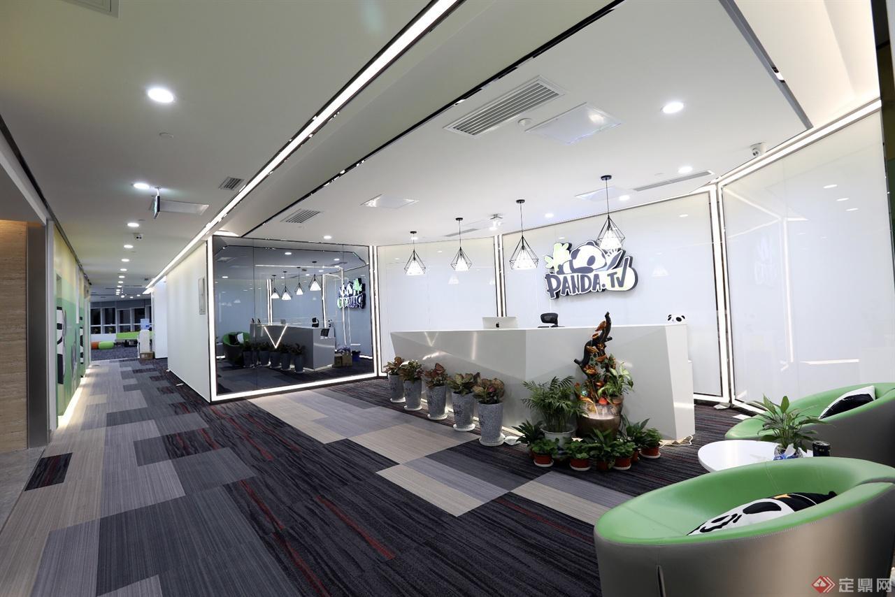 国民老公-熊猫tv办公室设计图片