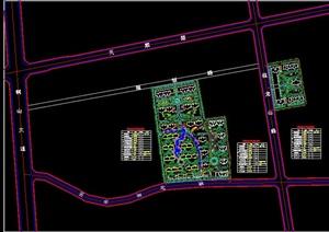 小区规划方案图纸