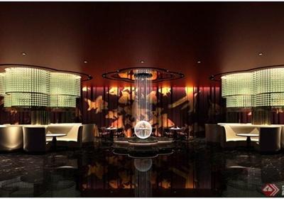 澳门五星级酒店中餐厅装修设计cad施工图(含效果)