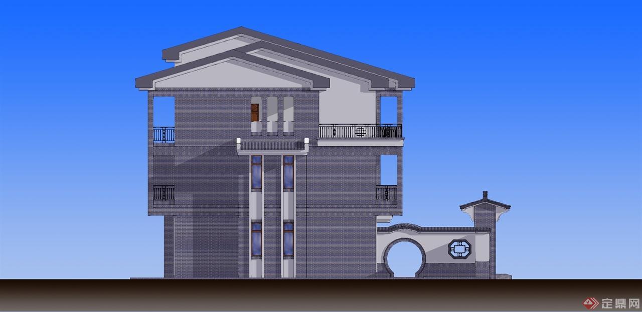 简约中式私宅-尚晟建筑设计