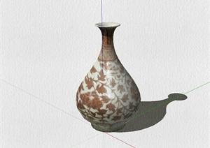 花瓶装饰品设计SU(草图大师)模型