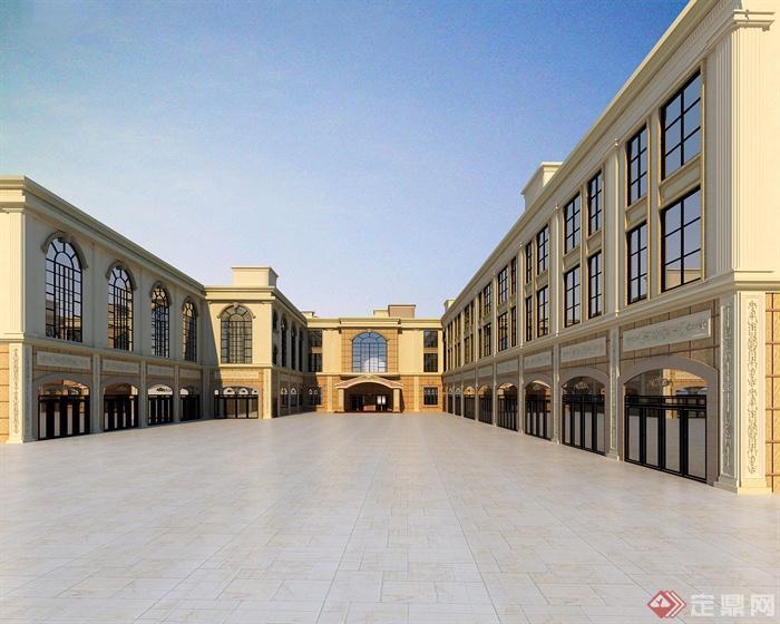 商业建筑,商业楼,商业街建筑