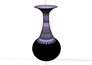 花瓶装饰品配饰设计SU(草图大师)模型