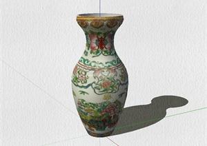 古董花瓶装饰品设计SU(草图大师)模型