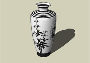 花瓶装饰配饰设计SU(草图大师)模型